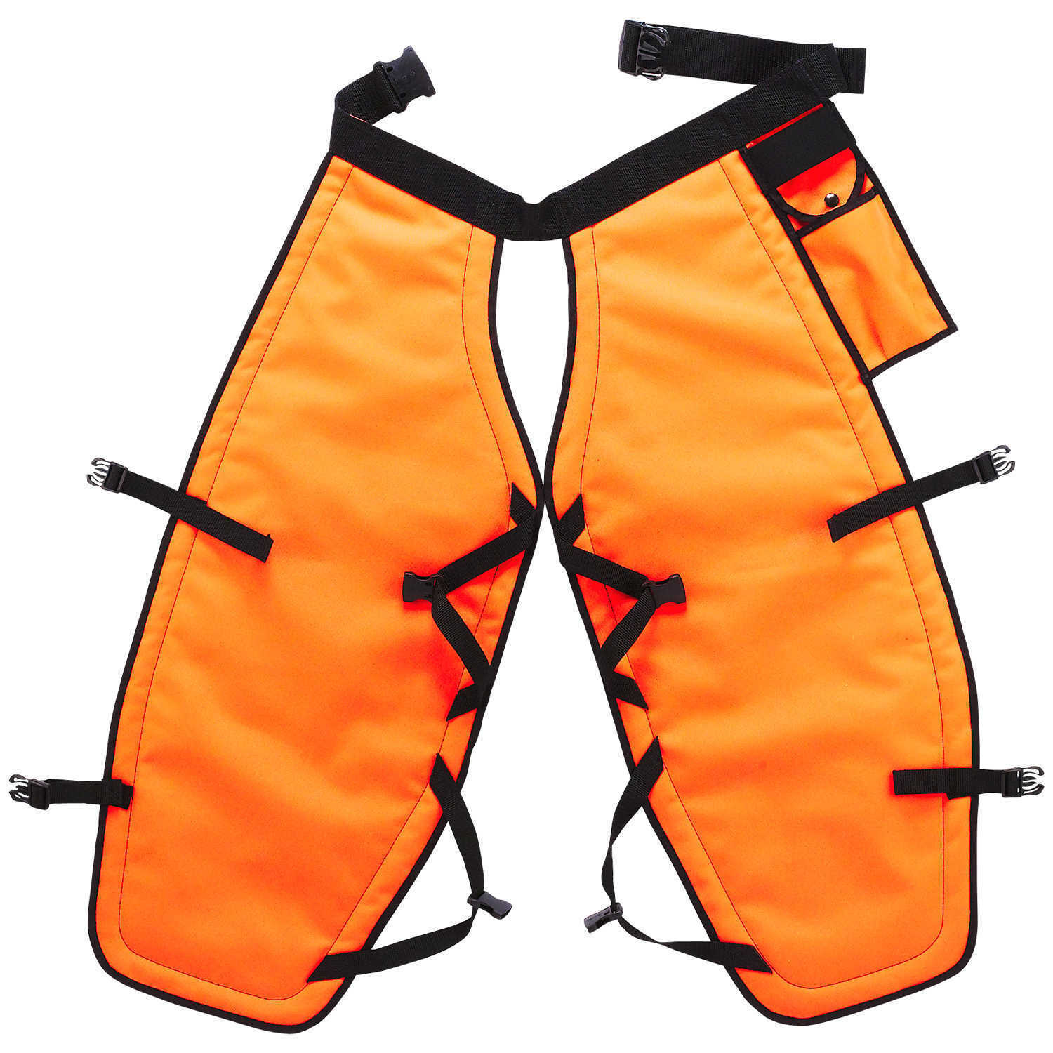 "PGI 5-Ply Para-Aramid Chain Saw Chaps orange 32""L"