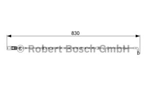 Bosch 1 987 473 043 Warnkontakt Bremsbelagverschleiß