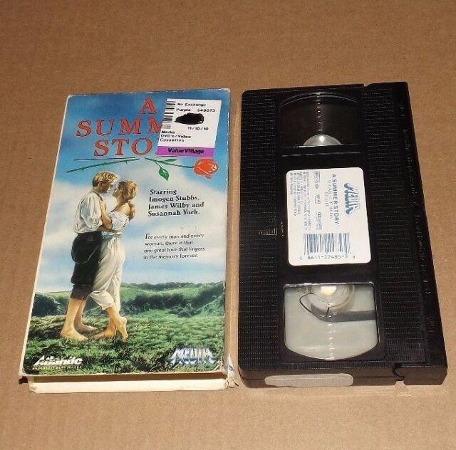 A Summer Story (VHS, 1988) Imogen Stubbs MEDIA