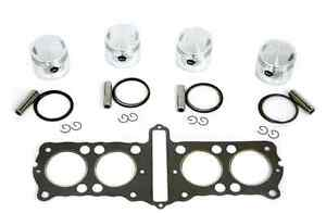Honda-CB750-750K-69-78-836cc-65mm-Big-Bore-4-Piston-Kit-with-Head-Gasket-NEW