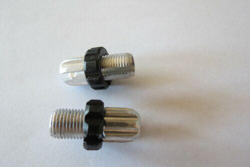 2xGegenhalterschrauben Bremshebel Stellschraube spigot M10 Aluminium 30,5 M10SR