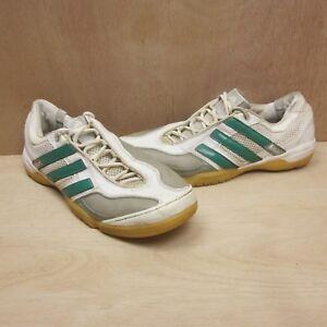 Adidas-Top-Sala-X-Retro-Vintage-2010-Scarpe-Da-Ginnastica-Verde-Bianco-Taglia-UK-8-5-EUR-43