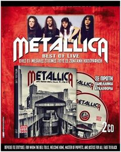 METALLICA-Limited-Promo-2xCD-GREEK-Live-DIGI-Master-of-Puppets-ONE-Fade-to-Black