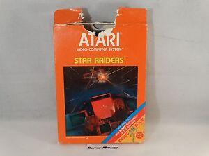 STAR-RAIDERS-ATARI-2600-VCS-7800-VIDEOGIOCO-VINTAGE-ANNI-80-BOXATO-BOXED