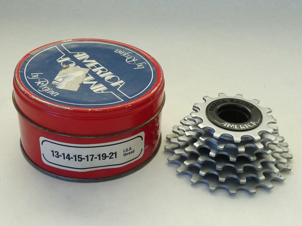 Regina Extra America Freewheel 6 speed  13-21 ISO  threading Vintage LAST FEW NOS  discounts and more