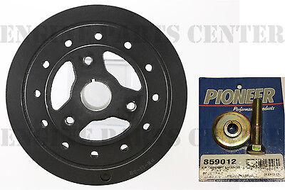 PIONEER Harmonic Balancer Damper+BOLT for Chevy SB 283 305 ...
