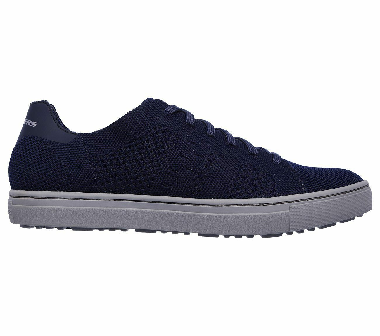65221-NVY, Skechers Schuhe – Alven Moneco blau, Herren, 2018, Textil