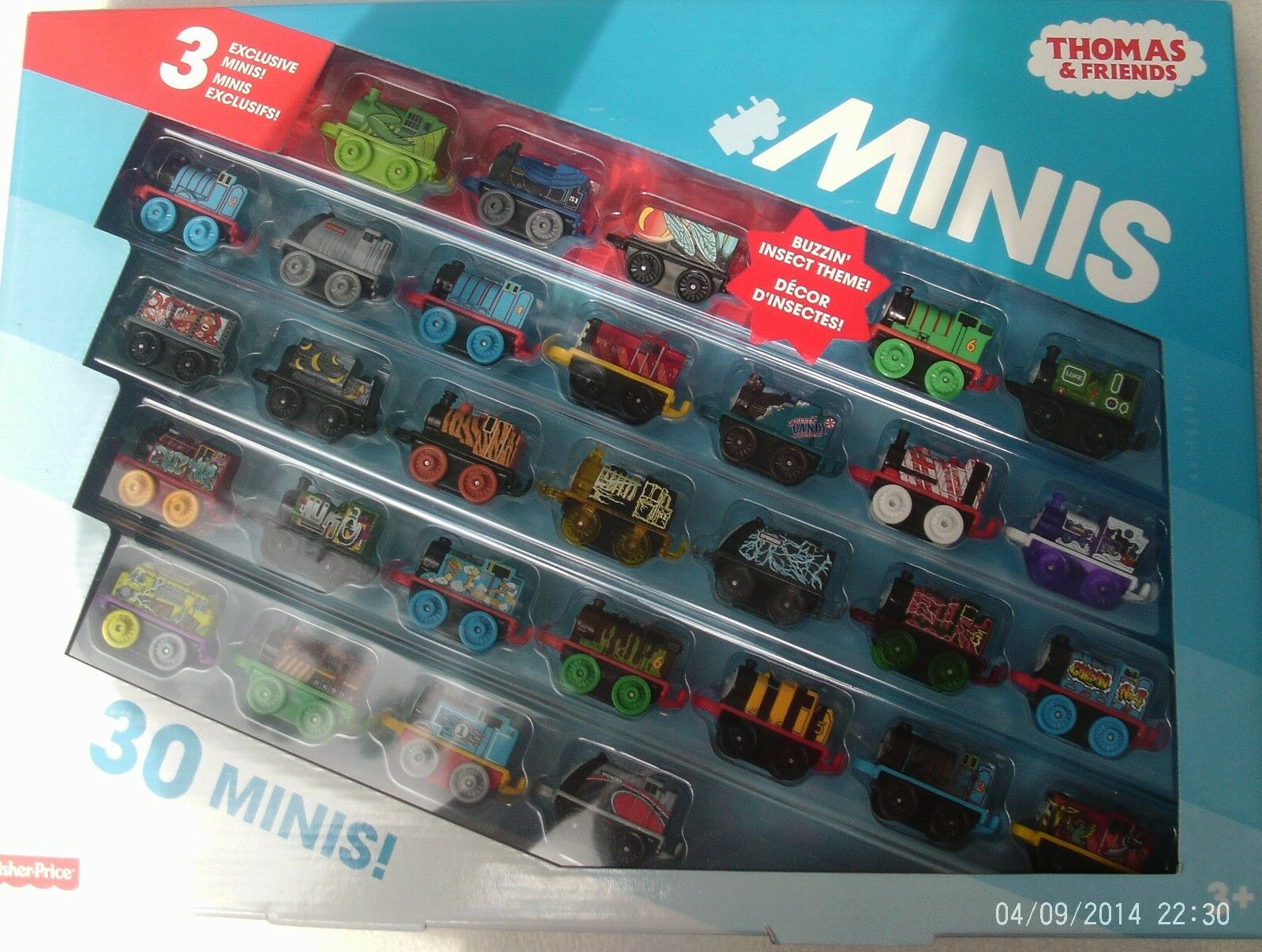 Thomas & Friends Minis 30 MINIS 3 EXCLUSIVE Minis  DXM20