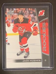 2019-20-JACK-HUGHES-Upper-Deck-NHL-ROOKIES-RC-Card-1-New-Jersey-Devils-QTY