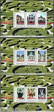 2011 Postzegelbeurs beurs Postex Apeledoorn 2768-C-6/8 blokjes nrs 9-11