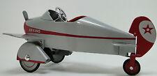 Air Plane Pedal Car WW2 P51 Mustang Airplane Midget Metal Model *star on Tailfin