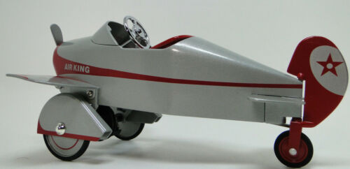 """Pedal Car Plane /""""Too Small For A Child Ride On/"""" Rare Miniature Metal Body Model"""