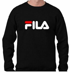 SUDADERA-NEGRA-FILA-SPORT-HOODY-NEW-BLACK-SWEATSHIRT-ALL-SIZES