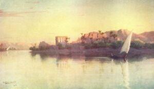 EGYPT. Philae 1912 old antique vintage print picture