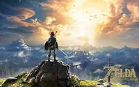 "The Legend of Zelda Breath of the Wild Art Print Poster 13x20"" 24x36"" 32x48"" #3"