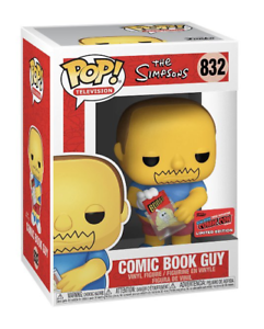 Funko-Pop-De-Vinil-Comic-Book-Guy-2020-Nycc-exclusivo-compartilhada-con-PRE-PEDIDO