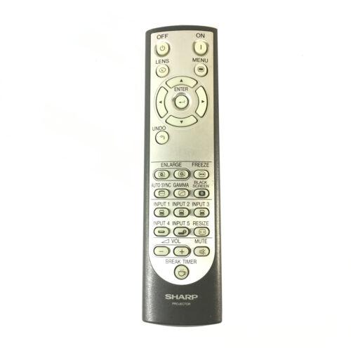Original Sharp RRMCGA048WJSA LCD Projector Remote Control