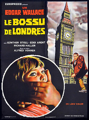 HUNCHBACK OF SOHO 1966 Günther Stoll EDGAR WALLACE Big Ben FRENCH ...