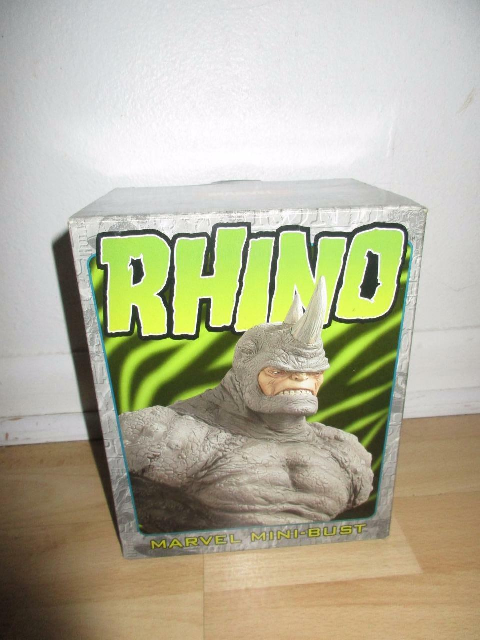 New Bowen Designs Rhino Marvel Mini-Bust 3953 6000 Sculpted Strictly Strictly Strictly Limited 4b33e7