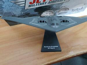 Northrop-Grumman-B2-Spirit-Bombardiere-Scala-1-200-Die-Cast-Atlas-Jet-Age