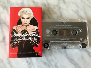 Madonna-You-Can-Dance-CASSETTE-Tape-Original-1987-SIRE-W4-25535-RARE-HOLIDAY