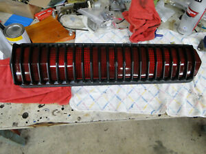 1968 Cougar GTE Tail Light Assembly Guaranteed Correct non-chrome Bezel