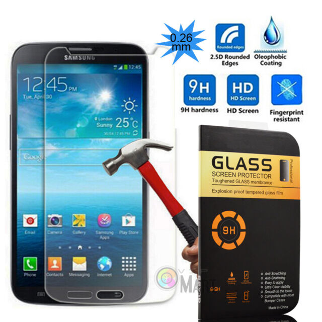 Premium 0.26mm Tempered Glass Film Screen Protector For Samsung Galaxy Mega 6.3