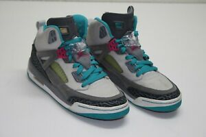 promo code 5aa7d d365d Image is loading Nike-Air-Jordan-Spizike-Miami-Vice-Gray-Pink-