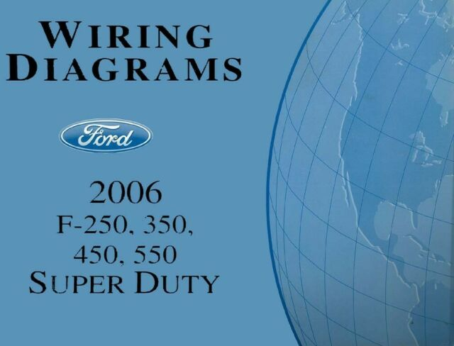 1996 Ford F250 Electrical Wiring Diagrams Manual XL Super ...
