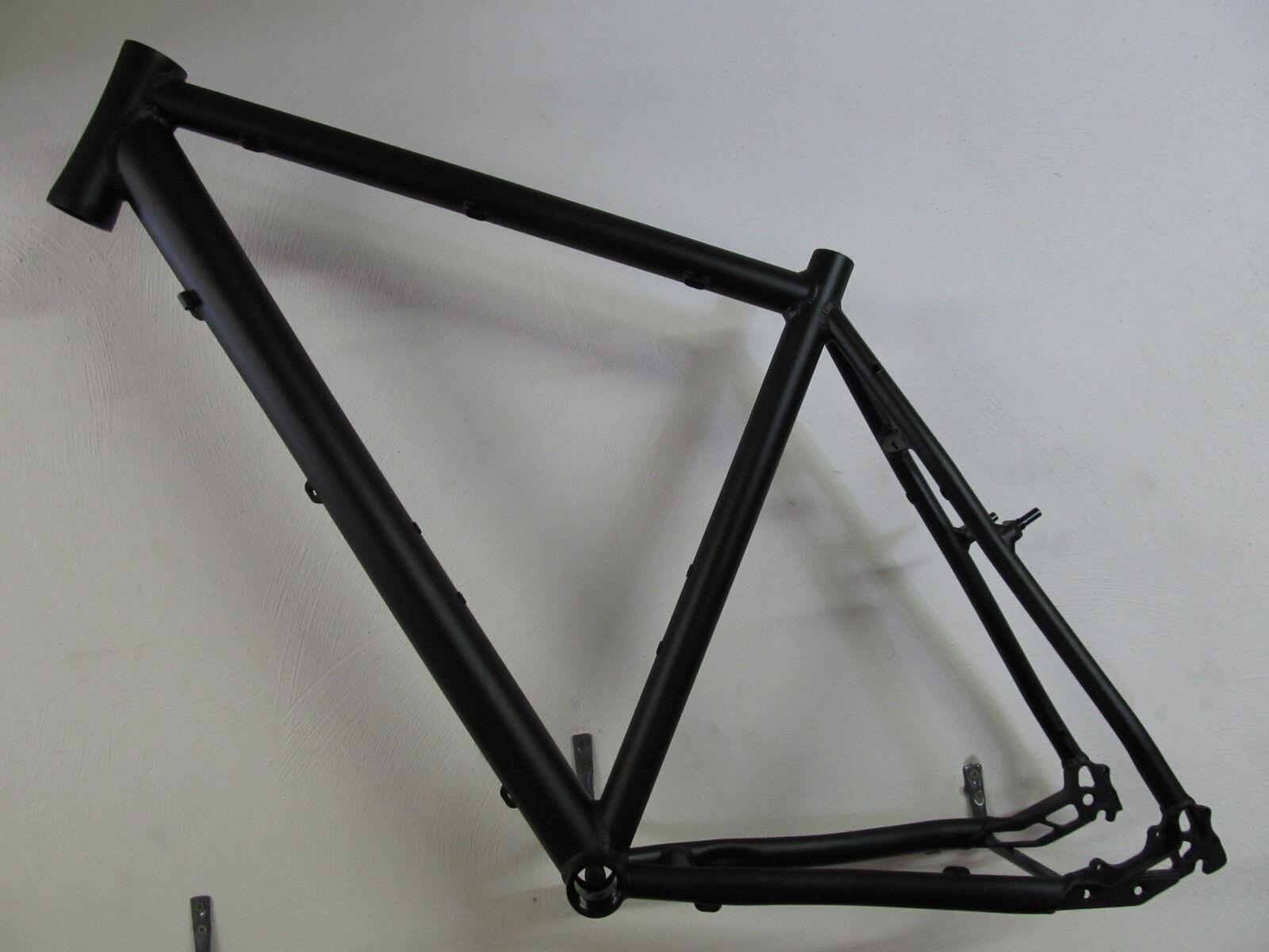 Heli-Bikes Ksl Cross Marco de Aluminio Trekking Hombre Nuevo 2018 52cm Negro