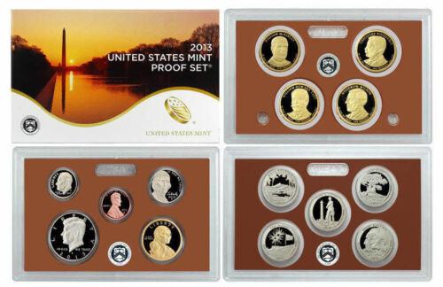 1 2013 United States Proof Set in Original Box
