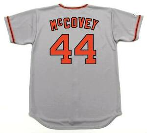 a1f3f54c Image is loading WILLIE-McCOVEY-San-Francisco-Giants-1973 -Majestic-Cooperstown-