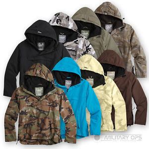 Surplus-Raw-Vintage-chaqueta-Cazadora-Impermeable-a-prueba-de-viento-transpirable-Nylon