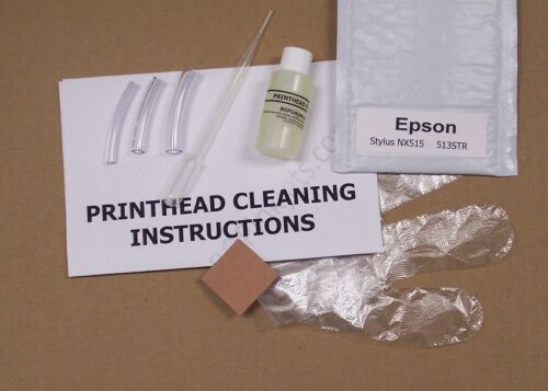Everything Included 513STR Epson Stylus NX515 Printhead Cleaning Kit