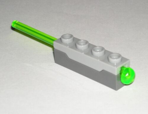 LEGO Missile Gun Cannon Spring Shooter with Trans-Bright Green Dart 75053