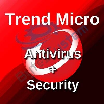 Antivirus & Security Software Beautiful Trend Micro Antivirus+security 2018-3 Pc/2 Anni/nuova/esd/non Preattivata