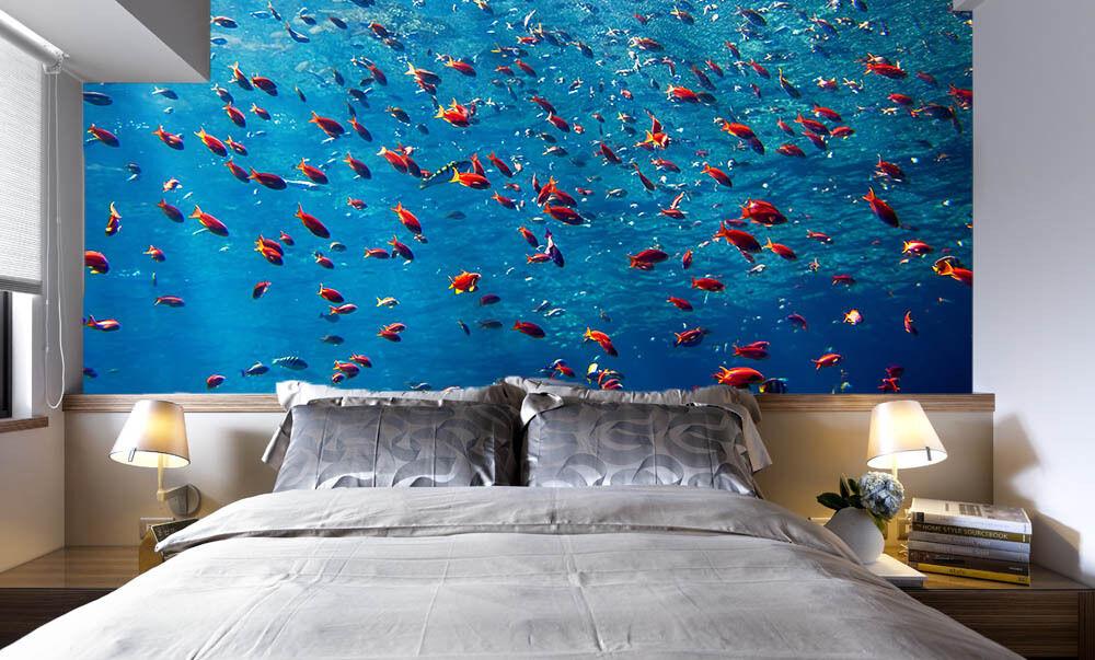 3D Water ocean fish 3343 Paper Wall Print Decal Wall Wall Murals AJ WALLPAPER GB