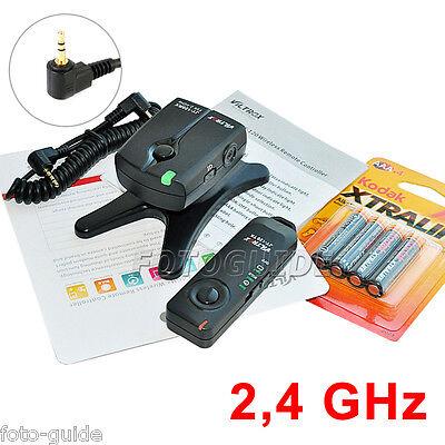 2,4 GHz Funk Fernauslöser passt zu Canon EOS Anschluss 1300D 1200D 600D 550D..