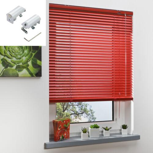 Aluminium Jalousie Alu Jalousette klemmfix Fenster Tür Plissee Rollo ohne Bohren