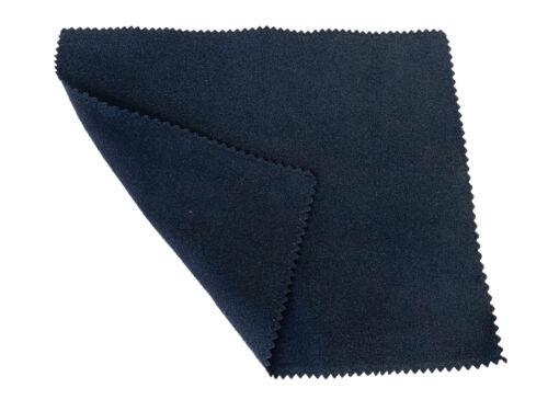 "Black Box 6/""x7/"" Suede Lens Cloth 190GSM 500 Ct Microfiber"