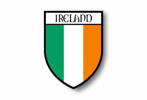 Stickers decal souvenir vinyl car shield city flag world crest ireland