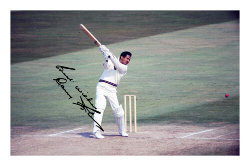 Garry Sobers A4 Signed Photo Print Autograph Cricket Gary Sir Garfield