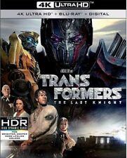 Transformers The Last Knight 4k Ultra HD Blu Ray 3 Disc Slipcover Shippi
