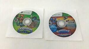 Skylanders SuperChargers and Swap Force Xbox 360 Game Used Tested Works Disc