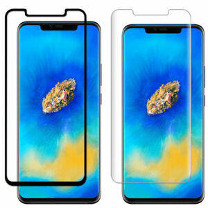 newest 2e381 041ab Details about For Huawei Mate 20 Pro Full Cover 3D Curved Tempered Glass  Screen Protector