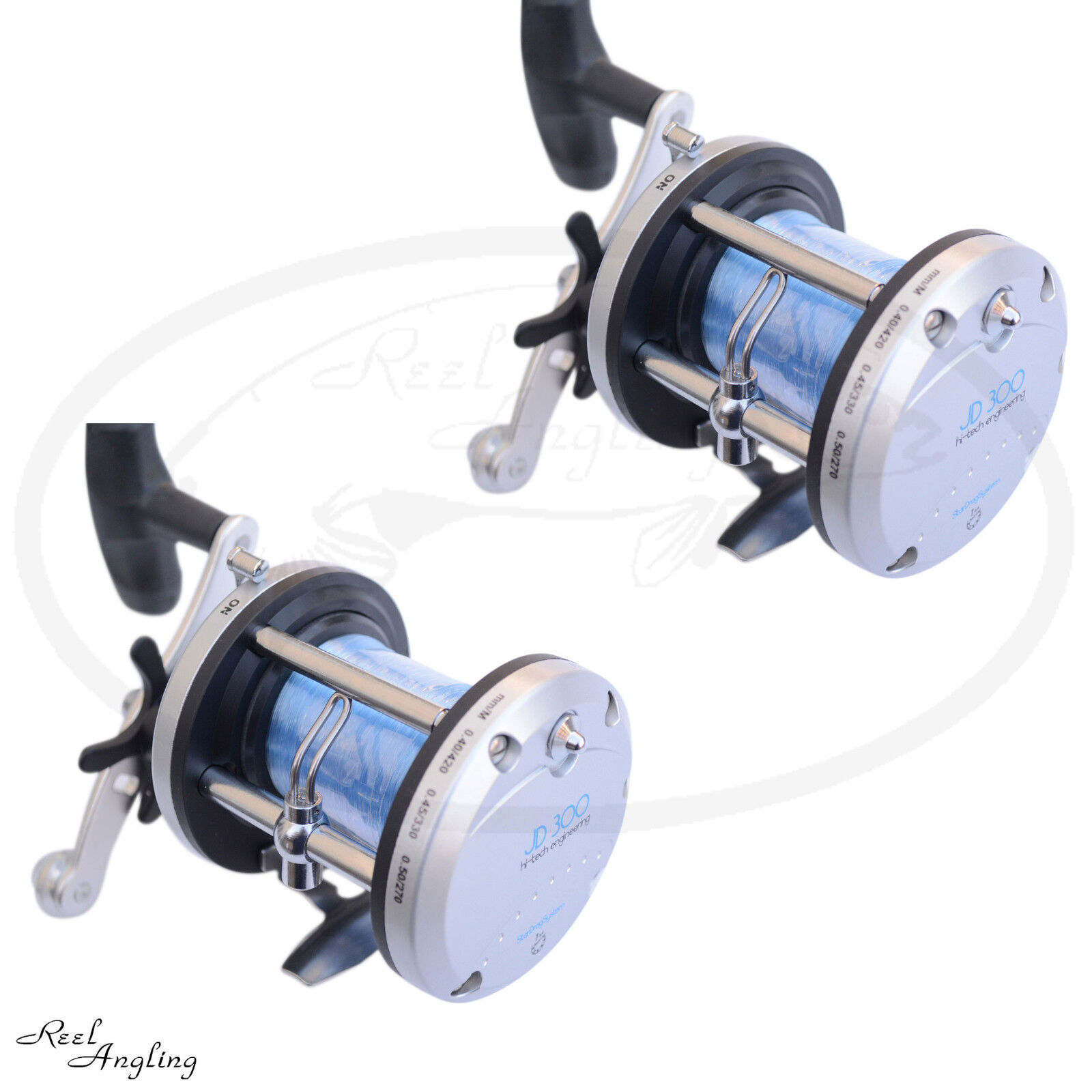 Lineaeffe JD 500 JD 300 300 JD Multiplier Sea Boat Fishing Reel Comes With Line Angling 8d6796