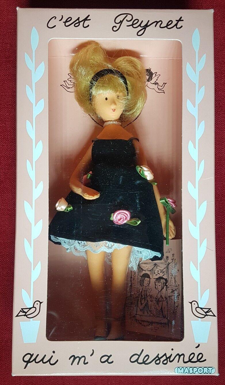 Poupee Peynet Peynet Peynet   Miss Twist   Masport neuve en Boite - Poupon ancien figurine 48e8bd