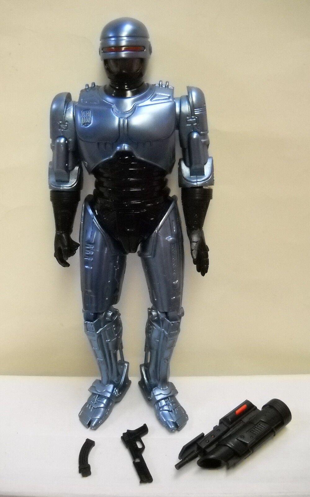 2793 Nuevo en Caja de catálogo audiotonic hablando Robocop 12  Figura Con Armas