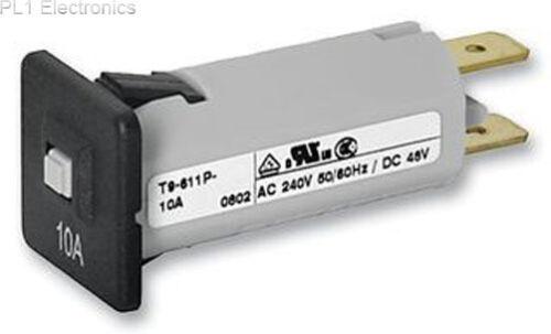 8a disjoncteur Schurter-t9-611p-8a panel mount