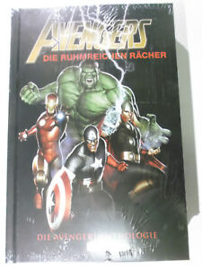 Raecher-AVENGERS-ANTHOLOGIE-Panini-2018-Hardcover-NEU